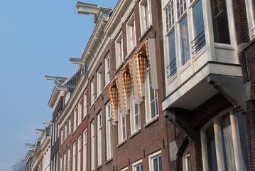 Typische Gebäude in den Niederlanden