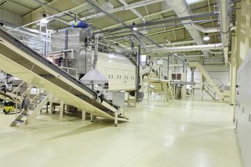 Industrial space - conveyor line