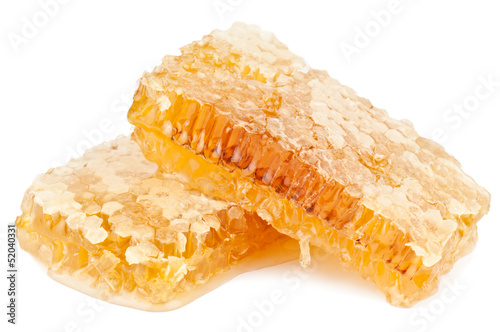 honeycomb on white