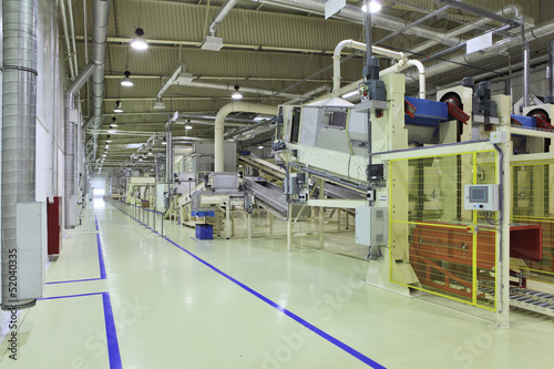 Industrial space - conveyor line