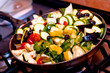 ratatouille cooking closeup