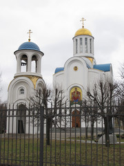 Храм Успения Пресвятой Богородицы. Санкт-Петербург.