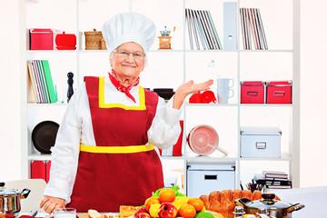 senior cook
