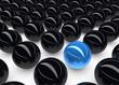 Uniqueness Blue Sphere Concept