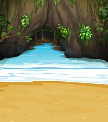 A big cave