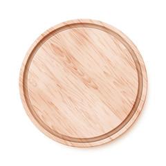 Wooden chopping board.