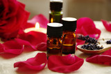 Fototapety aromatherapy treatment with rose