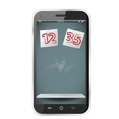 Sketch vector smartphone
