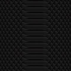 Snakeskin pattern black