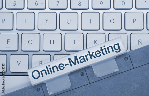 Online-Marketing tastatur