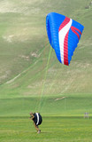 training with the paraglider