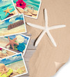 Summer Beach Postcards