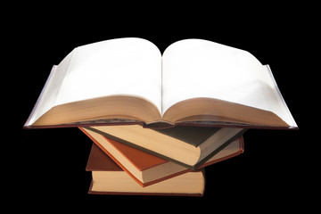 Pila di libri, studiare, scuola, cultura