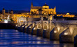 Roman Bridge and The Great Mosque, Cordoba, Andalusia