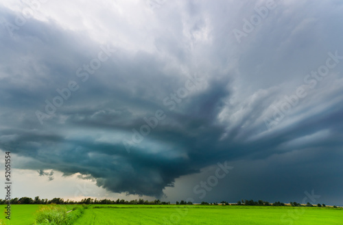 Supercell in the plains