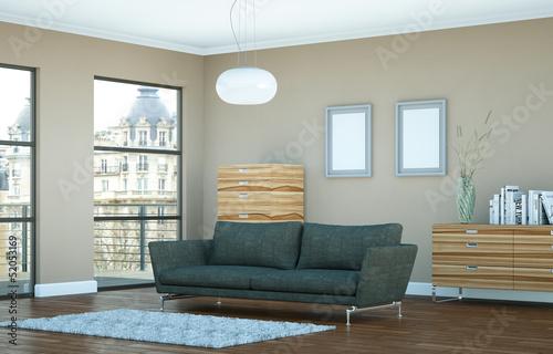 Wohndesign - moderne Stadtwohnung