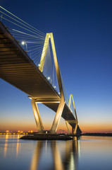 Charleston SC Arthur Ravenel Suspension Bridge South Carolina