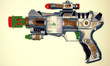 retro ray gun toy