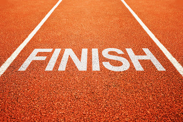 Finish lane
