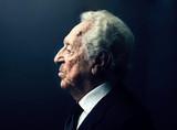 profile elderly man