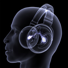 X-Ray - DJ - Headphones