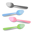 Colored Spoons set