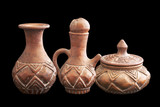 Typical vases aboriginal