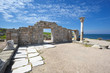 remains of ancient greek city Chersonese. Sevastopol. Crimea.
