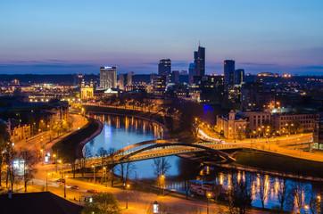 Lithuania. Vilnius in spring