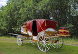 Old fashioned vintage carriage
