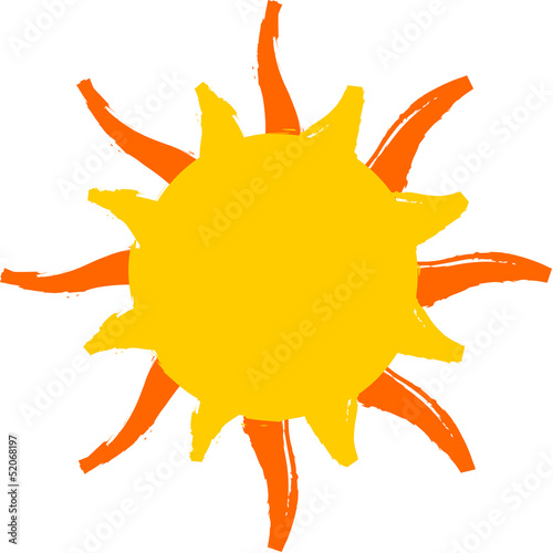 Sun vector logo