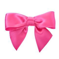 Closeup pink bow