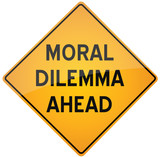 Moral Dilema Ahead poster