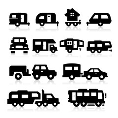 Recreational Vehicles Icons