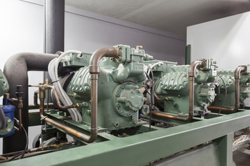 Compressor machinery