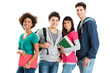 Portrait Of Multi Ethnic Students