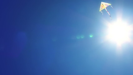 High flying kite.