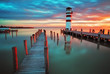 Lighthouse at Lake Neusiedl - Austria