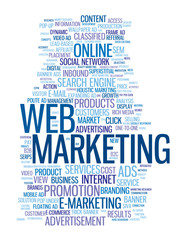WEB MARKETING Tag Cloud (e-business strategy online advertising)
