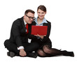 Couple on Notebook