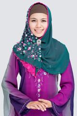 Elegant muslim girl