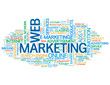 WEB MARKETING Tag Cloud (online advertising e-business strategy)