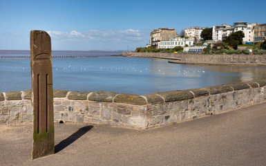 Marine Lake Weston-super-Mare Somerset England
