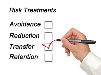 Risk treatments