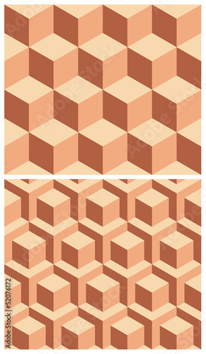 Seamless geometric patterns.