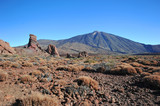 mountain landscape - view of the volcano Teide, finger of God