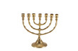 Seven candles menorah