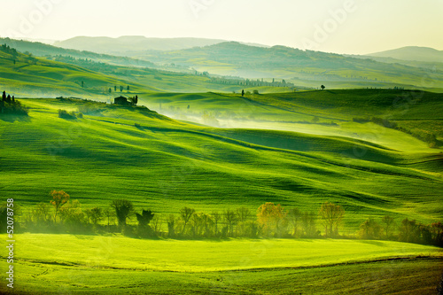 Foto op Plexiglas Heuvel Countryside, San Quirico´Orcia , Tuscany, Italy