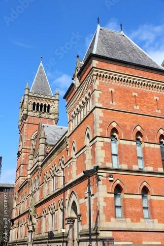 Manchester, UK - Minshull Street Crown Court