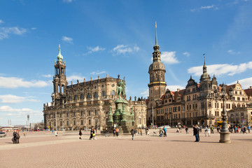 Dresden Theaterplatz